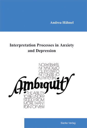 Interpretation Processes in Anxiety and Depression-0