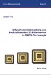 Entwurf und Untersuchung von hochauflösenden 3D-Bildsensoren in CMOS-Technologie-0