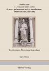 Studien zum > (Südfrankfreich um 1700) Textwiedergabe, Übersetzung und Besprechung-0