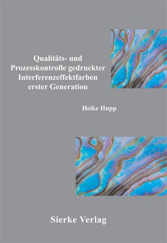 Qualitäts- und Prozesskontrolle gedruckter Interenzeffekttfarben erster Generation-0