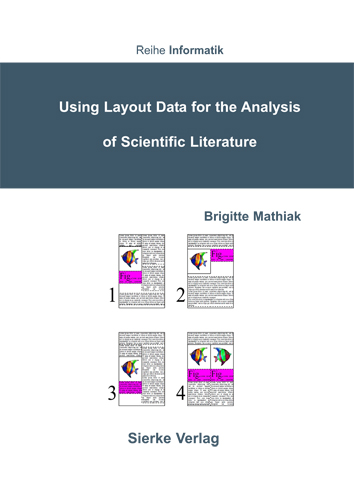 Using Layout Data for the Analysis of Scientific Literature-0