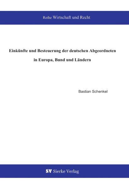 Einkünfte und Besteuerung der deutschen Abgeordneten in Europa, Bund und Ländern-0