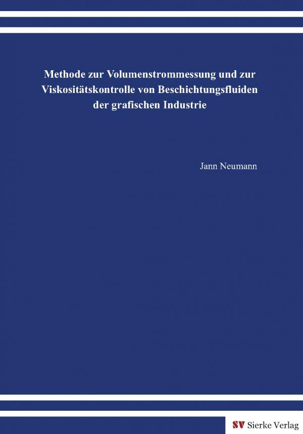Methode zur Volumenstrommessung und zur Viskositätskontrolle von Beschichtungsfluiden der grafischen Industrie-0