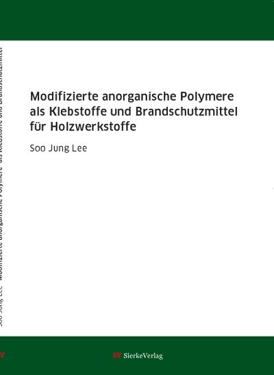 Modifizierte anorganische Polymere als Klebstoffe und Brandschutzmittel für Holzwerkstoffe-0
