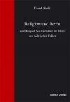 Religion und Recht am Beispiel des Dschihad im Islam als politischer Faktor-0