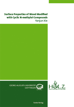 Surface Properties of Wood Modified with Cyclic N-methylol Compounds-0