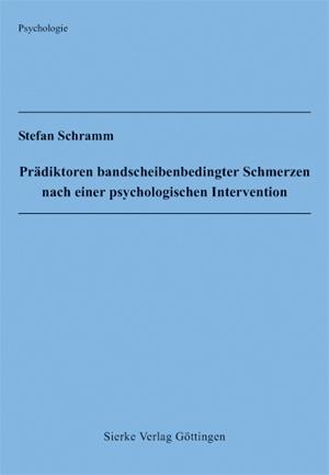 Prädiktoren bandscheibenbedingter Schmerzen nach einer psychologischen Intervention-0