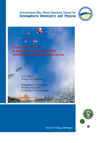 Trace gases on ice: A laboratory study of HCOOH, CH3COOH and HNO3 uptake on ice-0