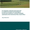 An integrated, landscape-based approach to model the formation and hydrological functioning of wetlands in semiarid headwater catchments of the Umzimvubu River, South Africa-34