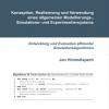Konzeption, Realisierung und Verwendung eines allgemeinen Modellierungs-, Simulations- und Experimentiersystems-122