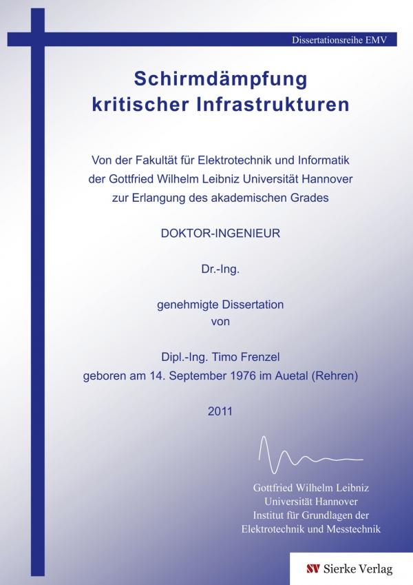 Schirmdämpfung kritischer Infrastrukturen-0