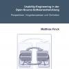 Usability-Engineering in der Open-Source-SoftwareentwicklungPerspektiven, Vorgehensweisen und Techniken-1389