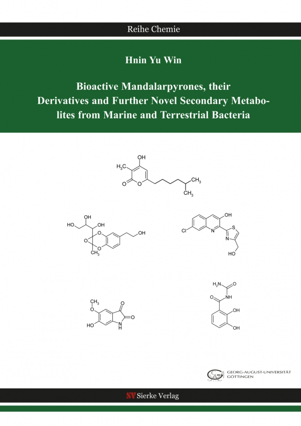 Bioactive Mandalarpyrones, their Derivatives and Further Novel Secondary Metabolites from Marine and Terrestrial Bacteria-0