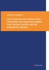 Firm resources and cluster entry – Theoretical and empirical insights from various clusters and the automotive industry-0