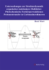 Untersuchungen zur Strukturdynamik organischer molekularer Halbleiter: Photochemische Festkörperreaktionen - Protonentransfer in Carbonsäuredimeren-0