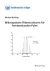 Mikrooptische Filterstrukturen für Femtosekunden-Pulse-0