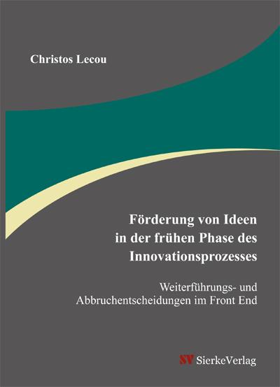Förderung von Ideen in der frühen Phase des Innovationsprozesses-0