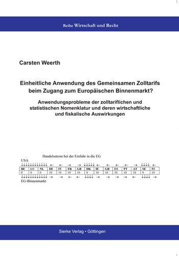 Einheitliche Anwendung des Gemeinsamen Zolltarifs beim Zugang zum Europäischen Binnenmarkt?-0
